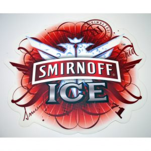 Smirnoff Ice Floor Sticker