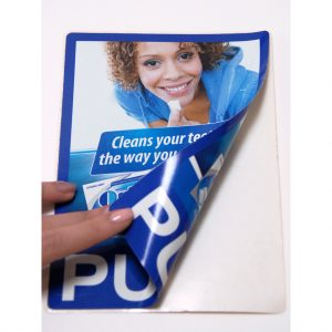 Wrigley's Orbit Push Pull Sticker