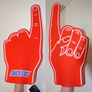 Snickers Fan Hands