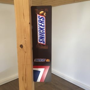 shelf stopper snickers