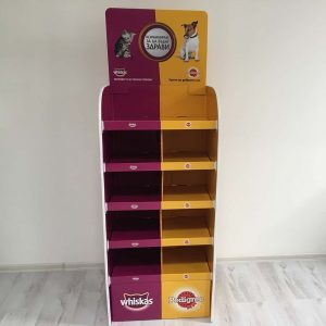 Whiskas & Pedigree Floor Display