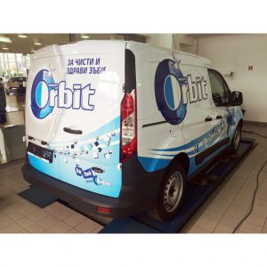 Wrigley's Orbit Car Branding