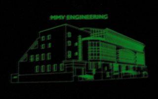Phosphorescent Ink Screen Printing