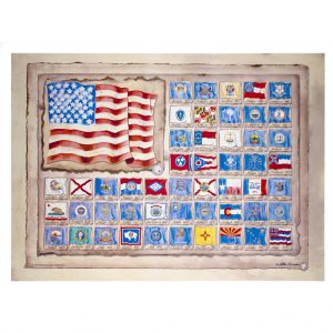 American Heritage Flags Screen Printing