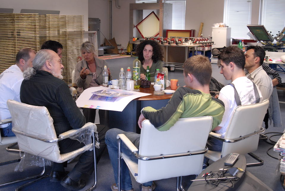 Michel Caza Top Print-Sofia Training