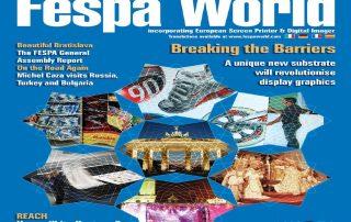 Fespa World Magazine Cover