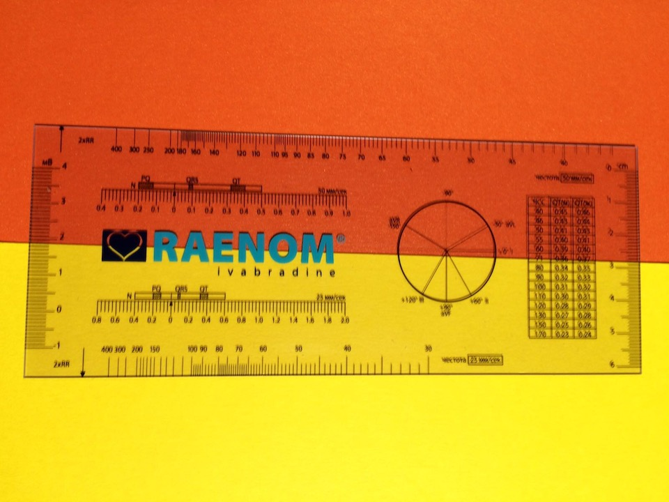 Transparent PVC ruler