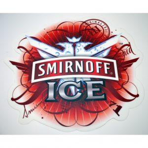 Smirnoff Ice Floor Sticker