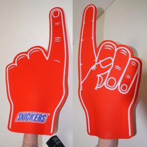 Snickers Fan Hands