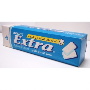 Wrigley's Extra Chewing Gum Dummy Box