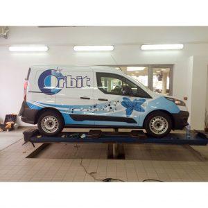 Wrigley's Orbit Car Branding