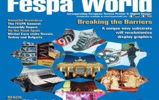 Fespa World Magazine Cover
