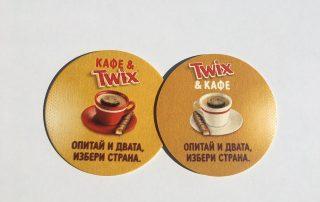 Twix Beermats